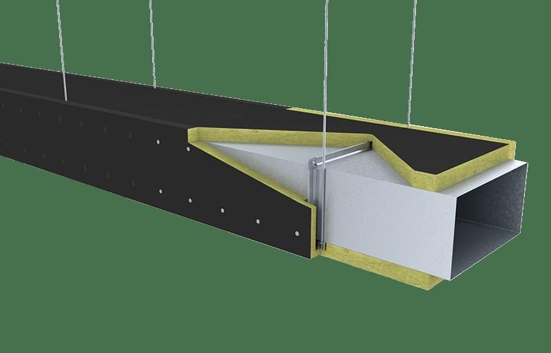Conlit Ductboard 120 Installations, 05_Instalaciones_Ventilación y climatización_Conductos - Sistema Conlit Ductboard Velo Negro