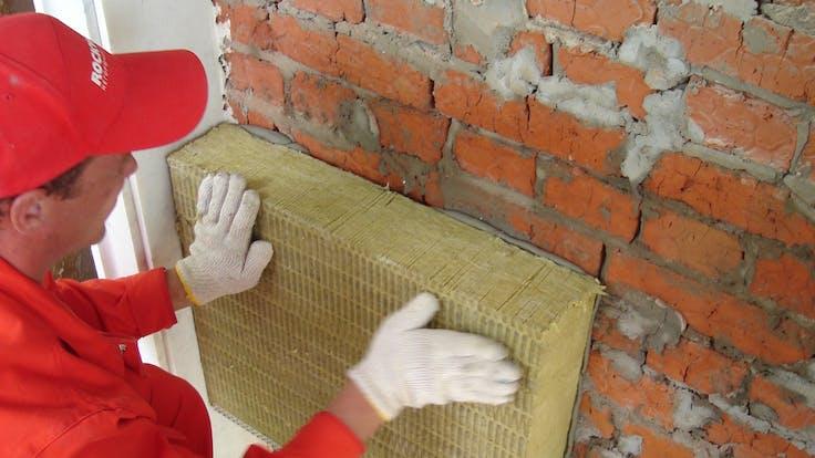 Brick, wall, insulation, slab, natural balance