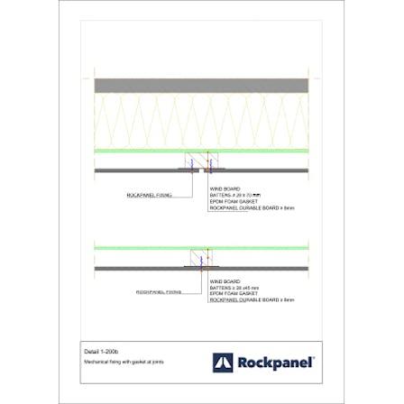 Rockpanel CAD drawing 1-200b