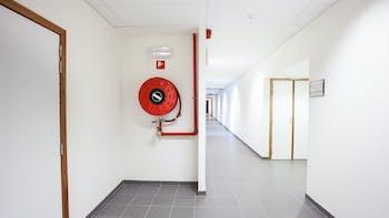 Hallway, Fire Protection, Fire Hose Reel