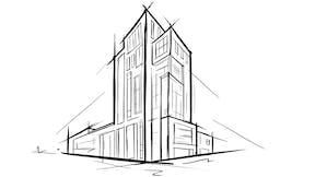 Building/Office Block sketch - large TIFF