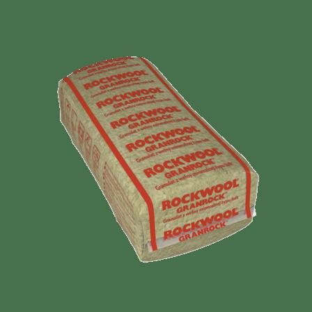 GRANROCK, attic insulation with granulate,  internal insulation,
