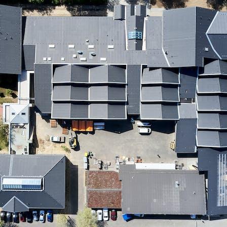 bundesbildungszentrum zimmerer, kassel, bubiza, zimmerer, renovation, roof insulation, fireproof, energetic renovation, masterrock, rocktect, germany, presse, press
