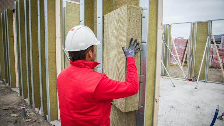 installation rockzero insulation, einbau rockzero dämmung, reference case NL