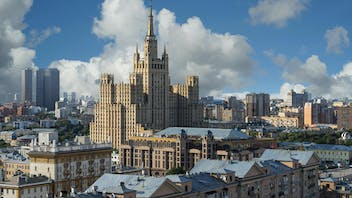 Moscow, city, roofs, Russia