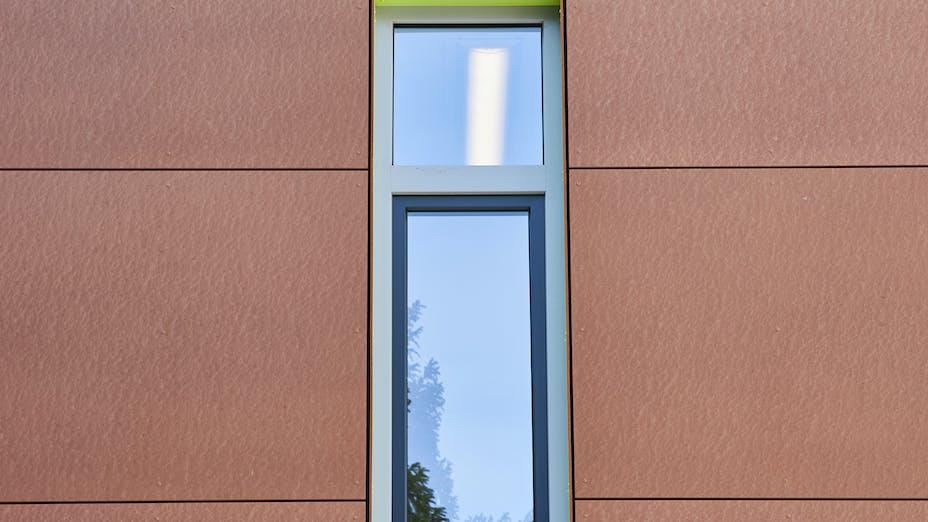 Rockpanel Case Study Nikolaus Von Weis Gymnasium - Germany Rockpanel Colours RAL 110 70 50