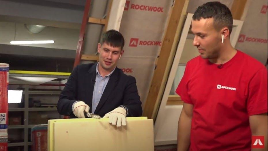 Webinar, test of insulation materials, water repellency