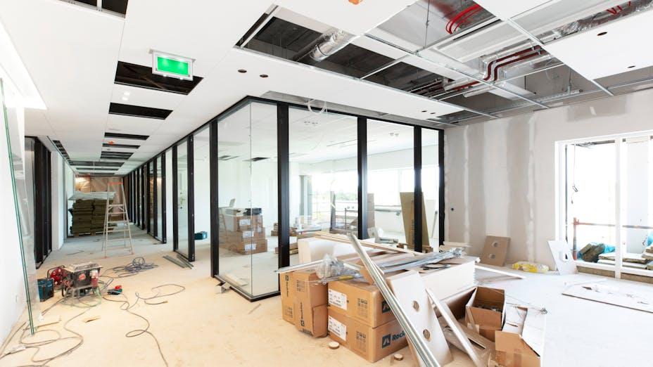 NL, Eindhoven, Franken Architectuur, Office, Rockfon Krios, D edge, 800x800, White