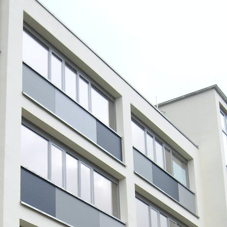 Unventilated application of Rockpanel Colours (excl. PP) and Rockpanel Uni