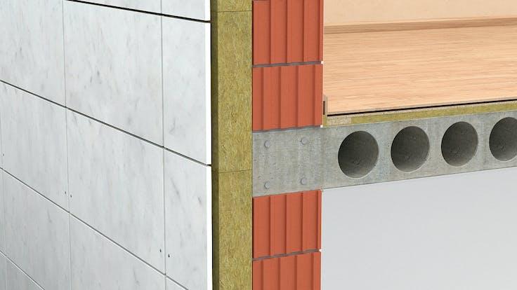 Ventilated facades, external walls, stone