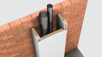 Installations, 02_Instalaciones_Agua y calefacción - Bajantes