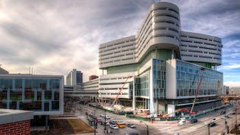 Rush Hospital Case Study 3, hospital, building, public, city, exterior