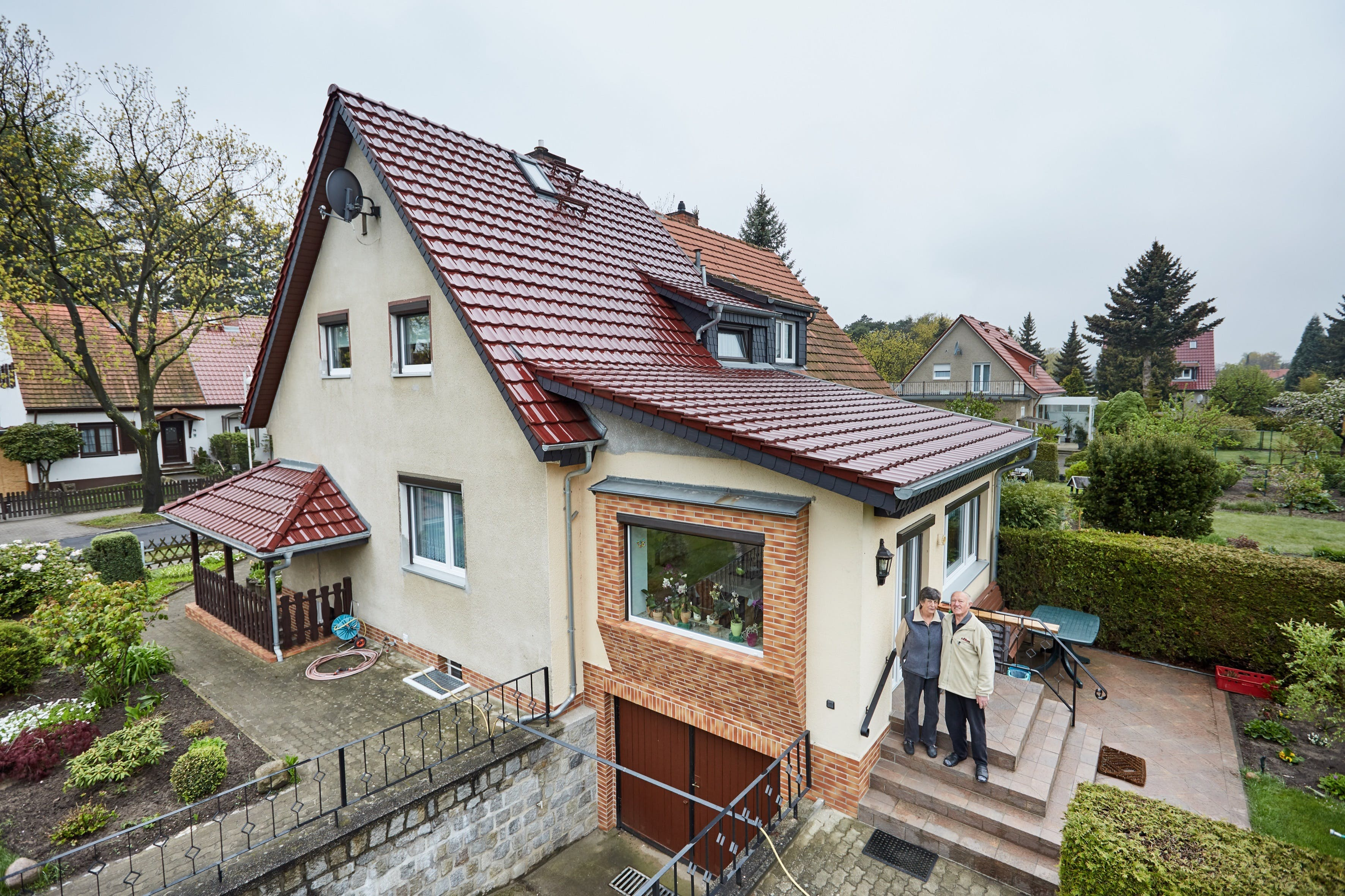 reference, single family home, single family house, single-family home, single-family house, renovation, noise, noise protection, acoustics, testimonials, airport, fluglärm, airport berlin, flughafen ber, germany, job 4964