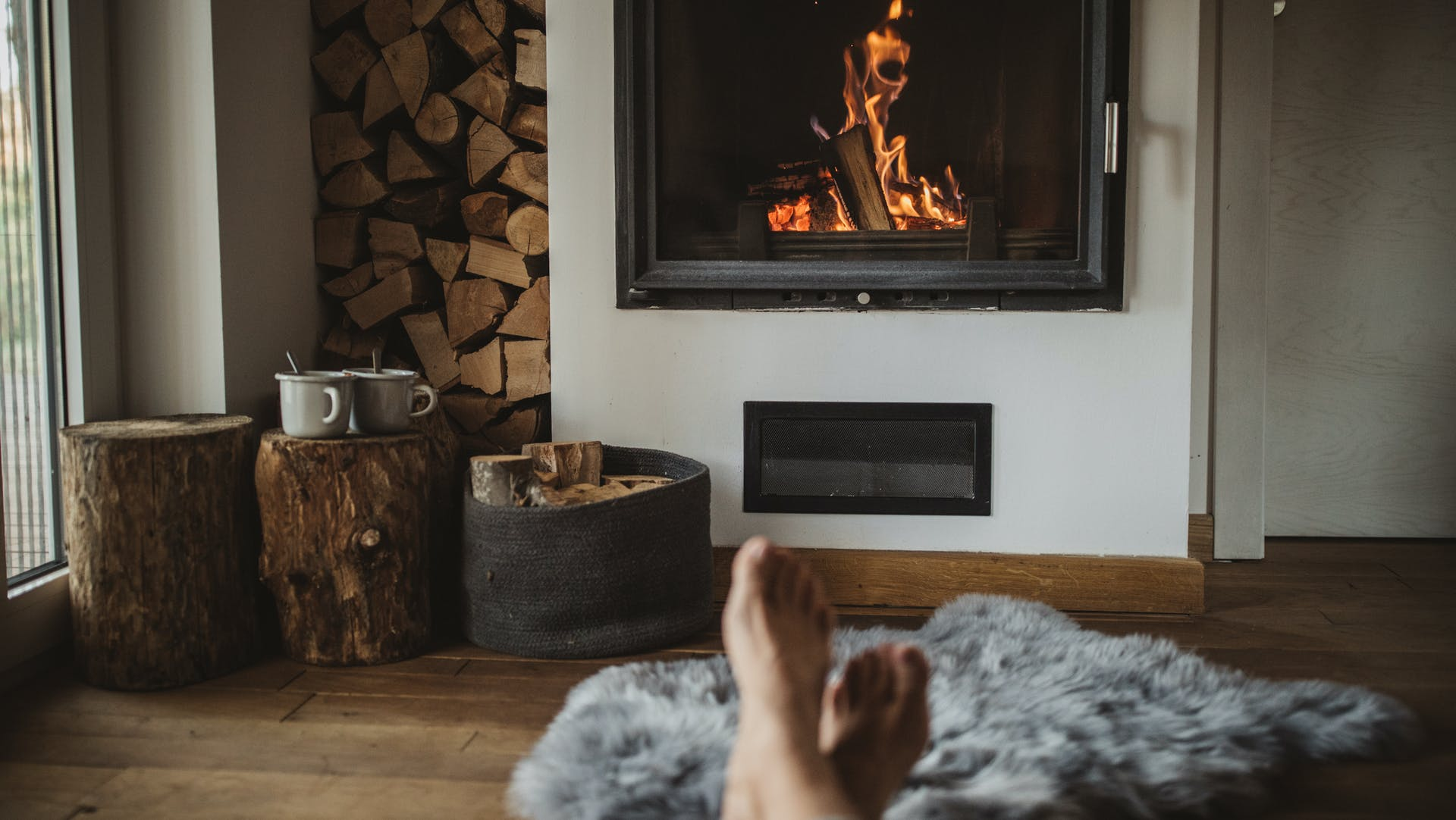 fireplace, house, family, warm
