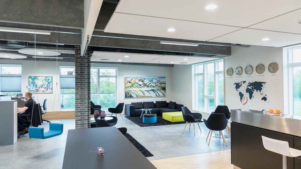 Acoustic ceiling solution: Rockfon Eclipse®, A - Square
