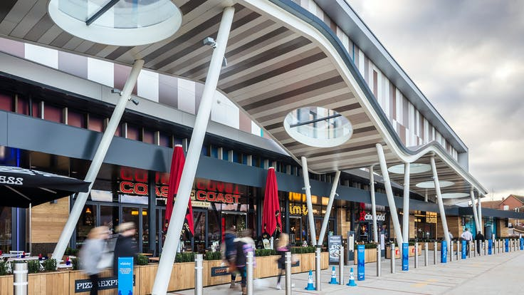CineWorld with Rockpanel Chameleon and Rockpanel Colours in Whiteley, United Kingdom