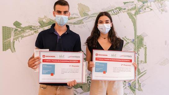 ROCKWOOL sustainability awards in UIC University in Barcelona Premios Sostenibilidad ROCKWOOL Universidad UIC Barcelona  Event