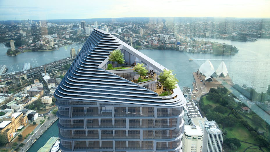 Quay towers in Sydney