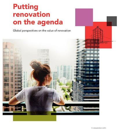 The cover of putting renovation on the agenda