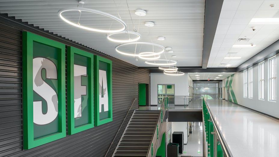 NA, HISD, Stephen F. Austin High School, Ero Architects, Artic, Intaline V-Base, Chicago Metallic 1200