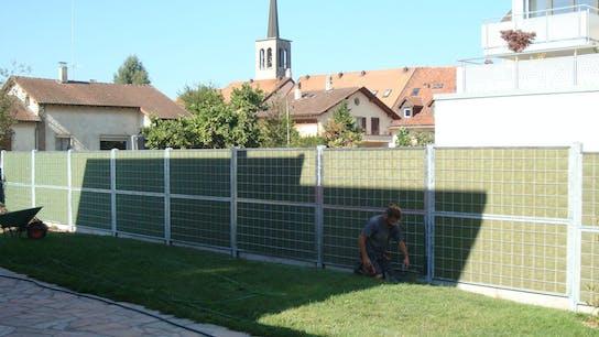fences, , steel, garden, noistop steel, lapinus