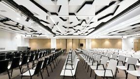 FR, World Trade Centre, Marseille, Tangram Architecture, Office, Rockfon Mono Acoustic, TE edge, White, Meeting Room