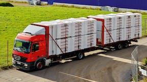 cabrio lkw, cabrio service, transport, loading, logistics, flachdach broschüre, germany