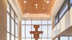 St. Elizabeth's Hospital, Planar Marcoplus, Metal, healthcare, Chapel