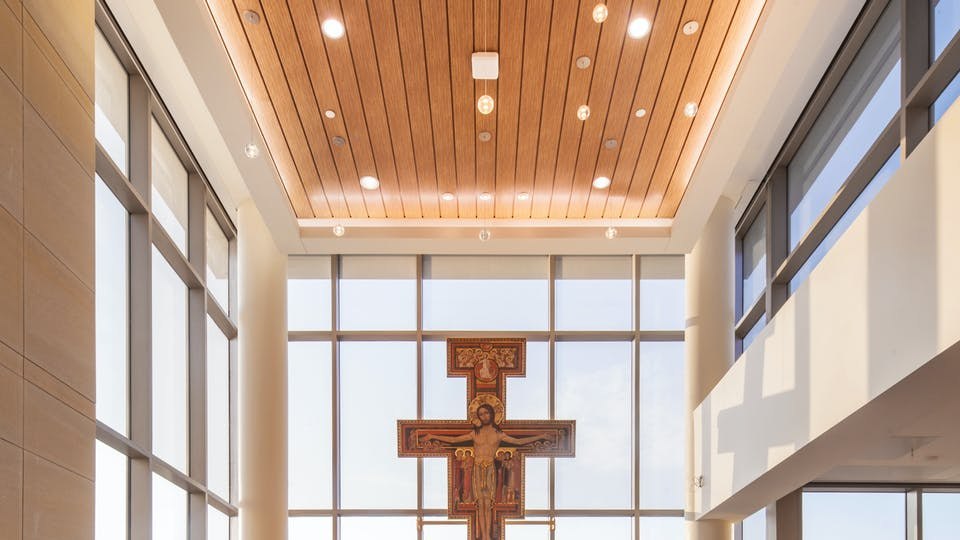Featured products: Rockfon® Planar® and Planar® Plus Linear Ceilings - Rockfon® Planar® Macro and Planar® Macroplus® Linear Ceilings