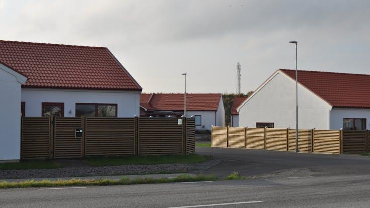 Akarp, house, case, noistop, fence, family, road, lapinus