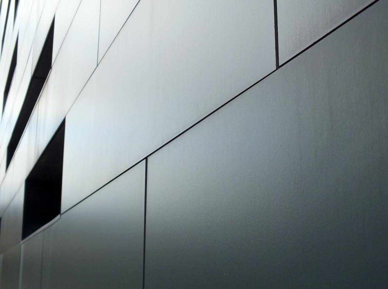 metal building wall