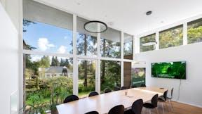 DK, Arboretet, Hørsholm, Claus Francke ApS, School, Rockfon Blanka, X edge, 1200x300, White
