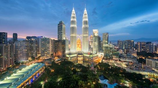 Petronas Twin Towers, Fire-Resilience, night