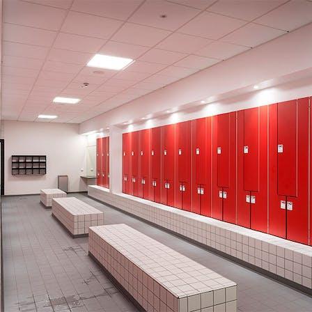 parafon, tiles, hygiene, project, ystad, badhus, dressing, rooms