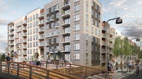 Case Study, Sluseholmen,Techinical Insulation,  fire protection, Conlit Black, Gröning Arkitekter, building, people,