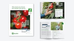 grodan, illustration, e-Gro, brochure