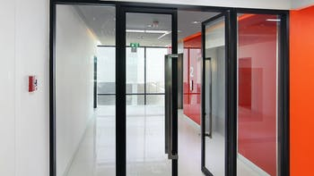 Stock Photography - Fire Protection - Room - Red Interior