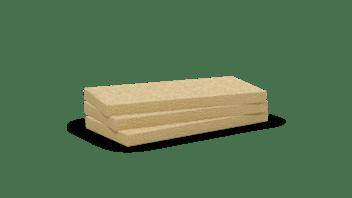 Mono density, very low density wool slab. Products: Multirock, Acoustic