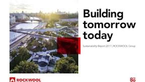 ROCKWOOL Sustainability Report 2017