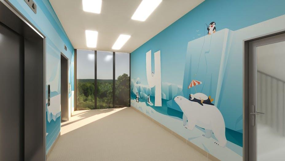 The Children's Memorial Health Institute in Poland, MediCare ceiling, Patrycją Piekutowską