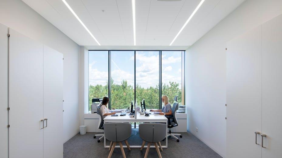 PL, Bialmed Sp. z o.o., Pisz, 3XA, Office, Rockfon Blanka, X edge, 1200x600x22, White