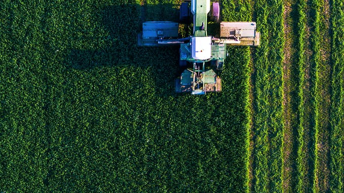 RockWorld imagery, The big picture, greenery, machinery, field, agriculture
