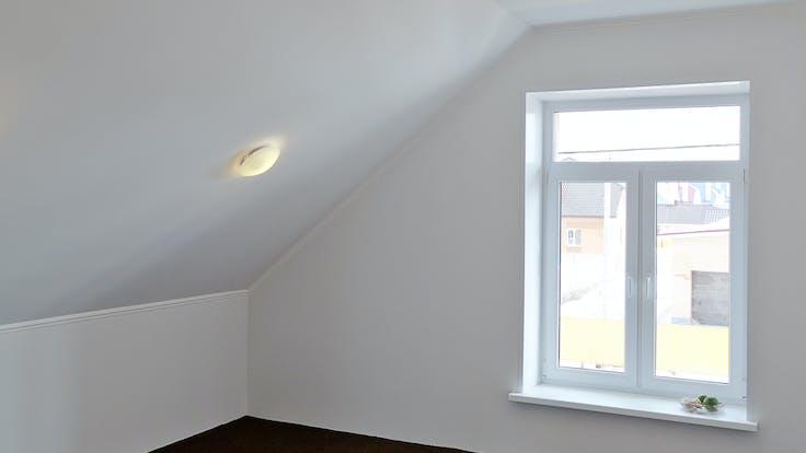 Room, white walls, house, natural balance