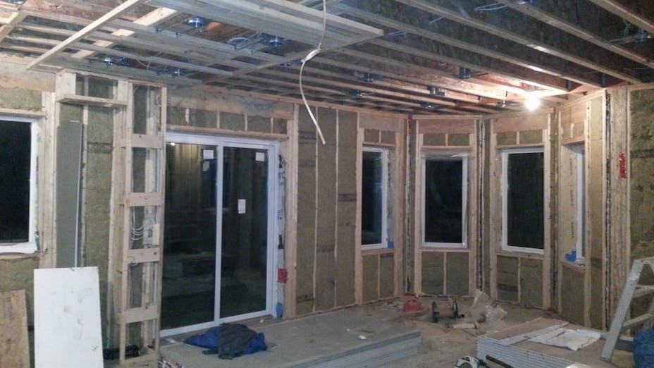 BabyFoot Case Study 2, construction, insulation, home, interior