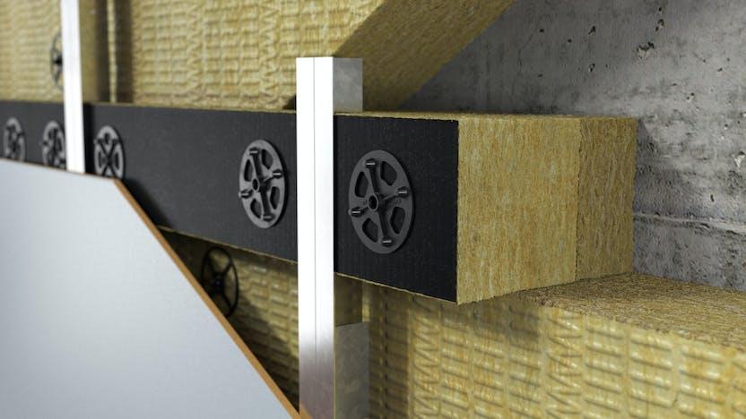 product, system, wall, facade, ventilated facade, fixrock bwm brandriegel kit, germany