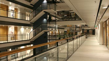 Building, commercial, interior, office