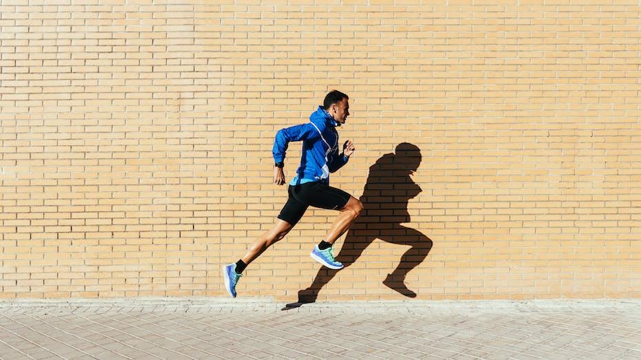 People, Humans, Running, Man