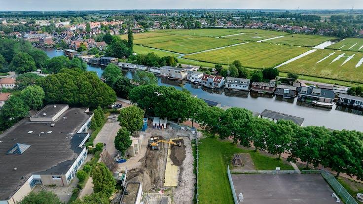 Rockflow - central buffer - Amsterdam Noord