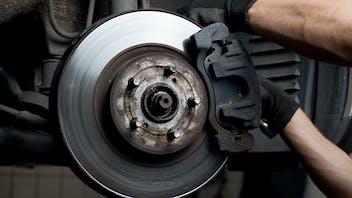 Friction automotive Lapinus brake pad system hands car passenger pcdp