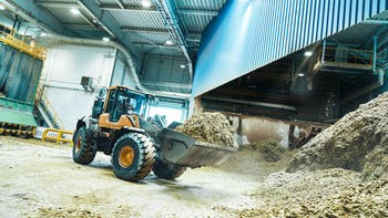 Recycling, Germany, factory, Linie 9, excavator